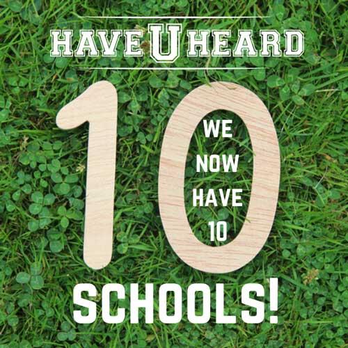 haveuheard 10 schools