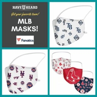 HAVEUHEARD MLB MASKS