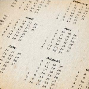 haveuheard calendar