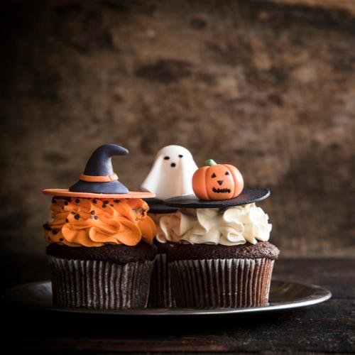 haveuheard halloween cupcakes