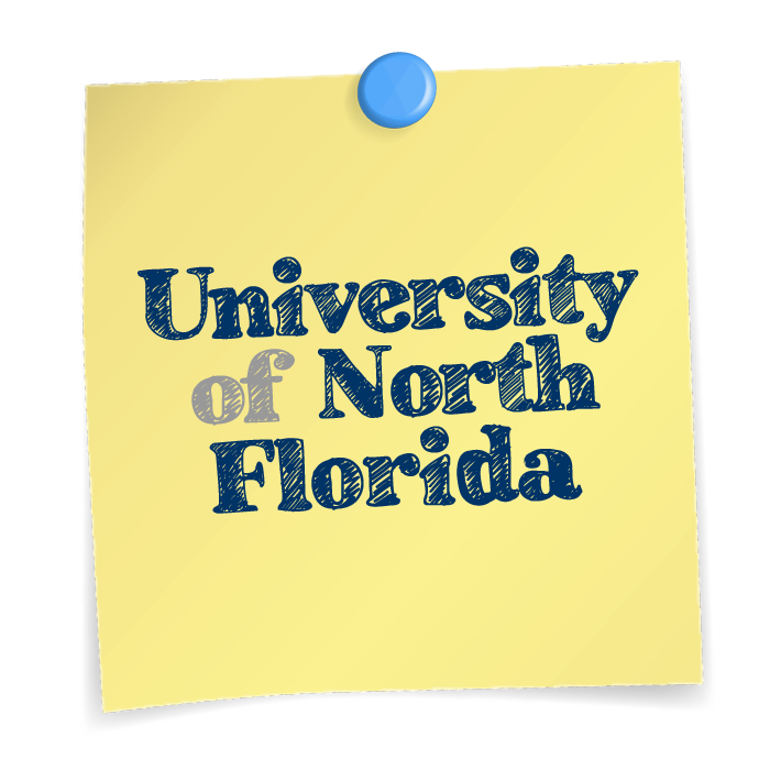 University of North Florida Sticky